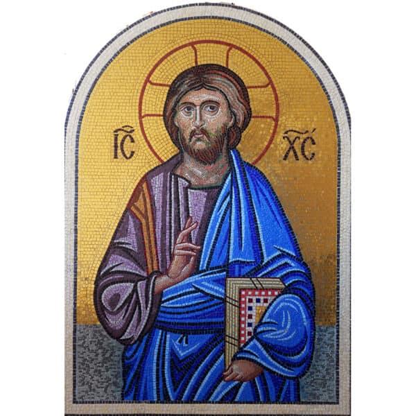 Ψηφιδωτό Ιησούς Χριστός Ευλογών