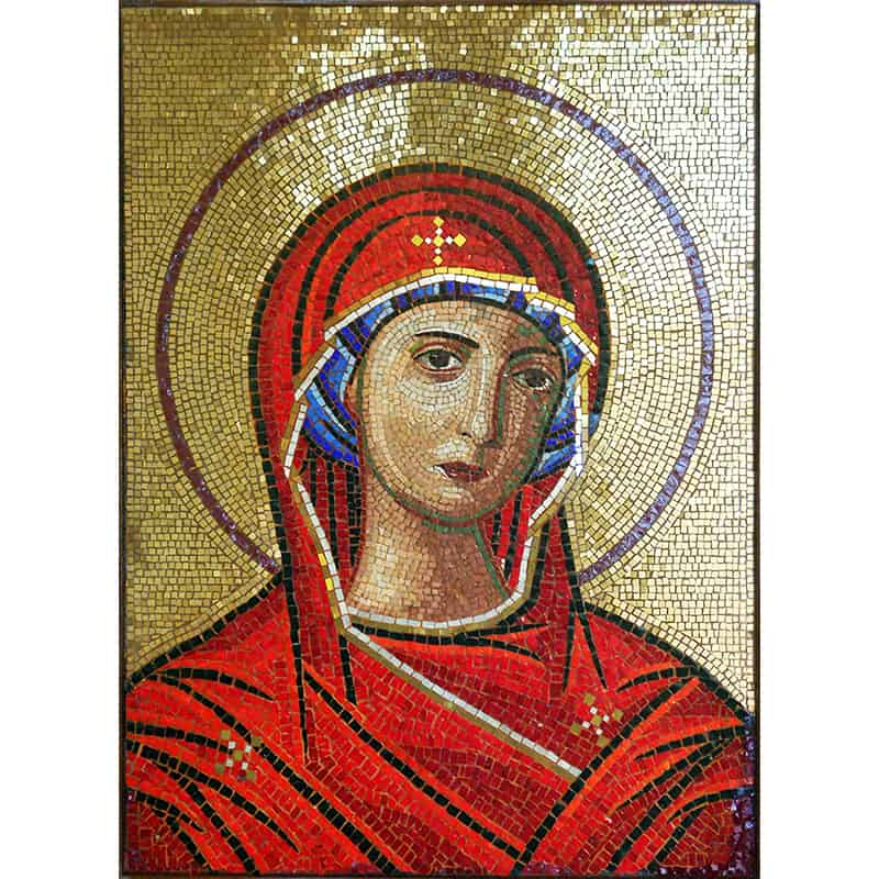 Mosaic of the Most Holy Theotokos