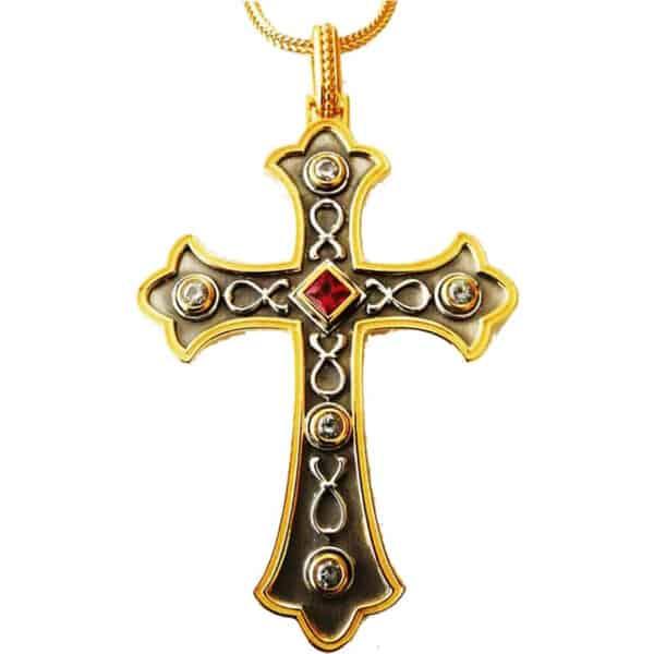 Σταυρός Ασημένιος Μικρός 09033 1