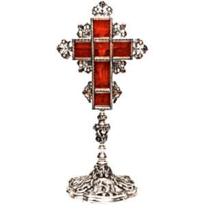 Σταυρός Αγιασμού Ασημένιος
