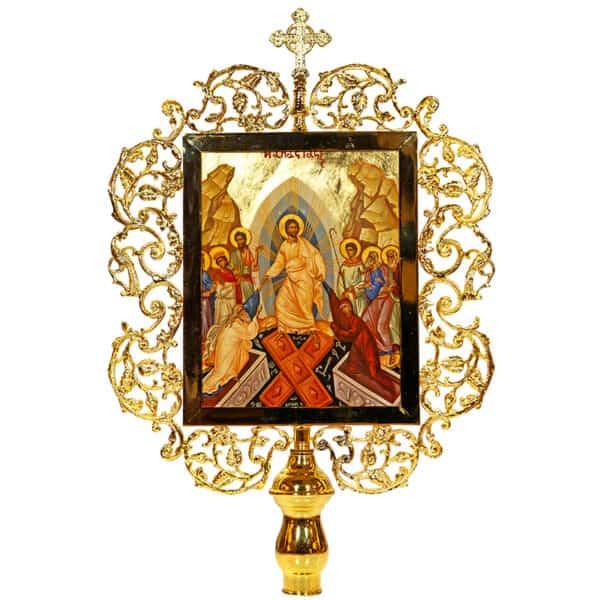 Выносная Икона Воскресение Христово