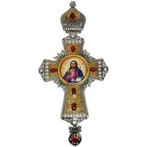 Pectoral Cross Silver