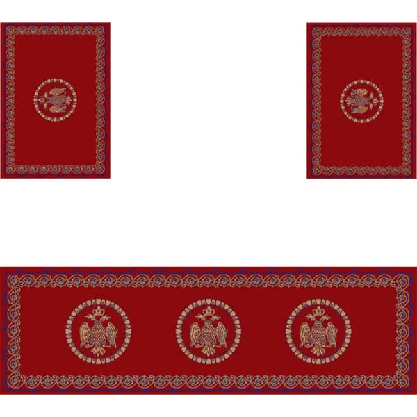 Set of Holy Table carpets