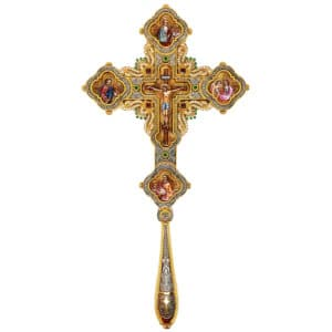 Silver Blessing Cross