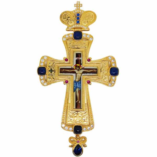 Наперсный Крест Бронзовый