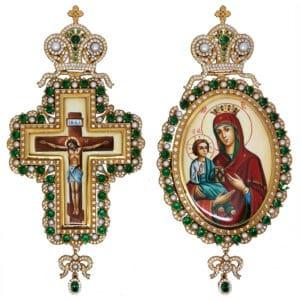 Silver Bishop's Set (Pectoral Cross – Encolpio)