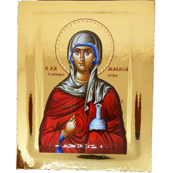 Icon Saint Anastasia Farmakolytria
