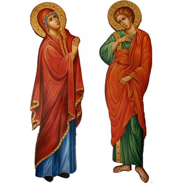 Holy Virgin Mary - Saint Ioannis the Theologian)