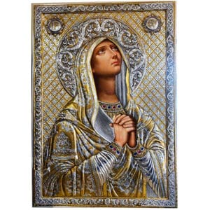 Icon Virgin Mary Deomene