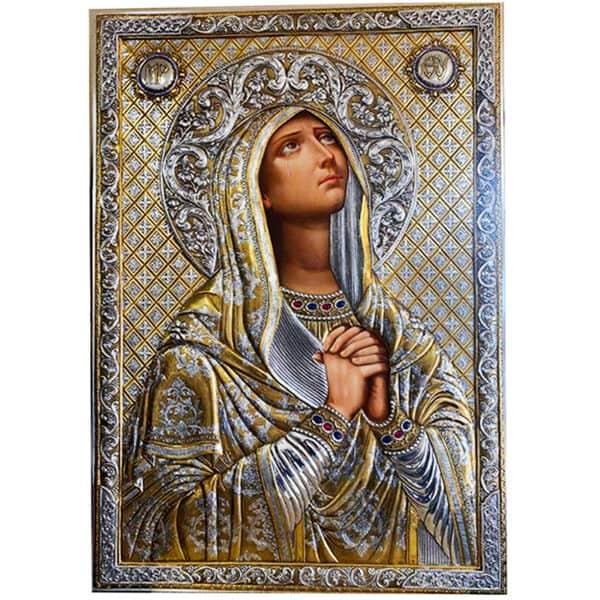 Icon Virgin Mary Deomene