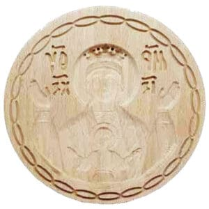Bread Stamp Holy Virgin Mary