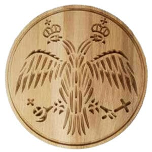 Bread Stamp double-headed Eagle