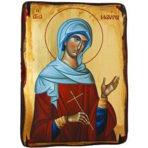 Icon Saint Mavra