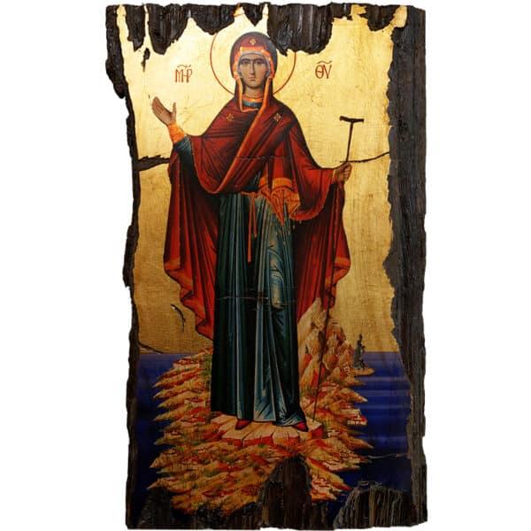 Icon Holy Virgin Mary Athonitissa
