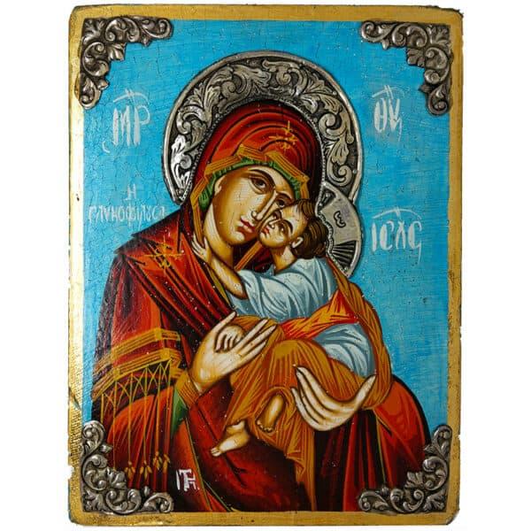 Sweet Kissing Holy Virgin Mary
