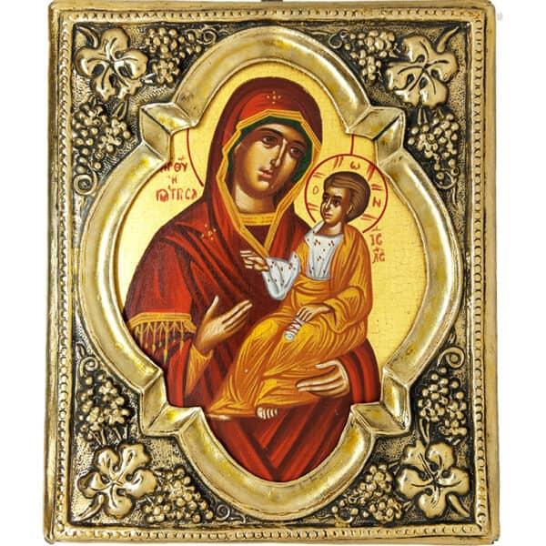 Icon Holy Virgin Mary Giatrissa