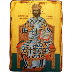 """Икона с образом Спасителя """"Великий Архиерей"""""""