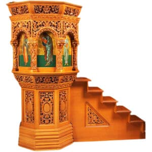 Floor pulpit