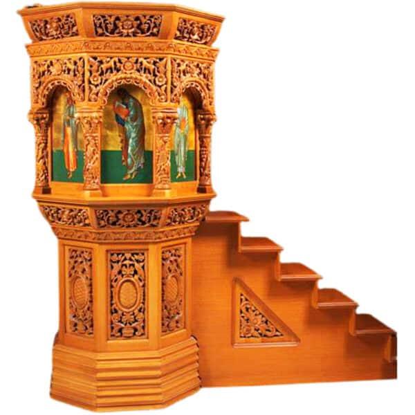 Floor pulpit