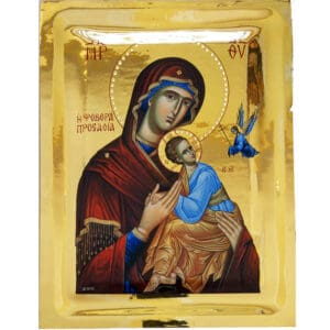 Icon The Intercession of Theotokos