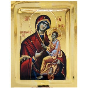 Icon Virgin Mary Gorgoepikoos