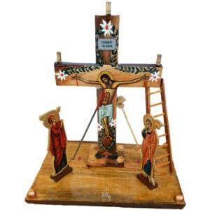 Крест-распятие настольный