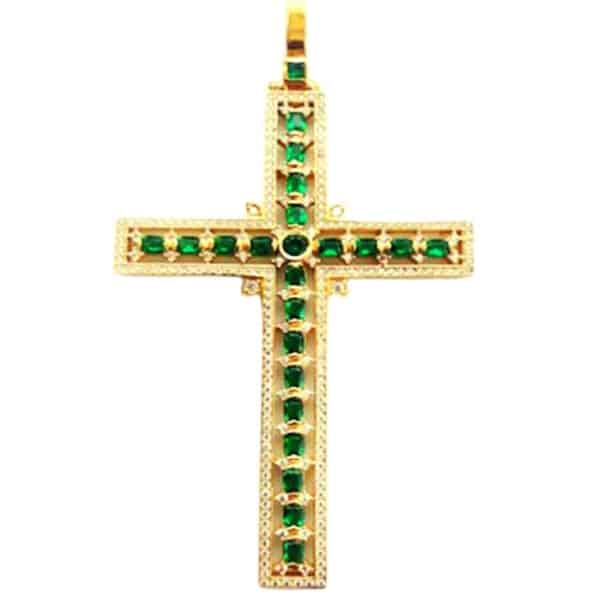Small Silver Pectoral Cross