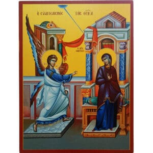 Icon Annunciation of Mary
