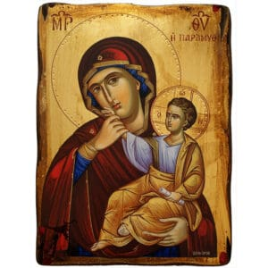 Icon Virgin Mary Paramythia