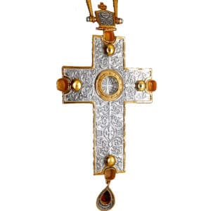 Silver Pectoral Cross – Reliquary