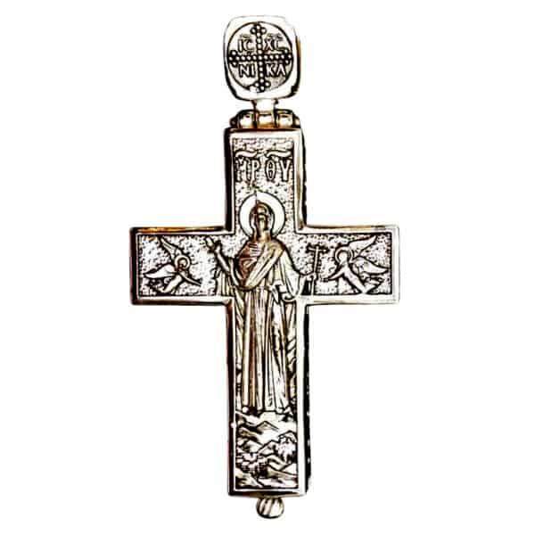 Pectoral Cross Silver